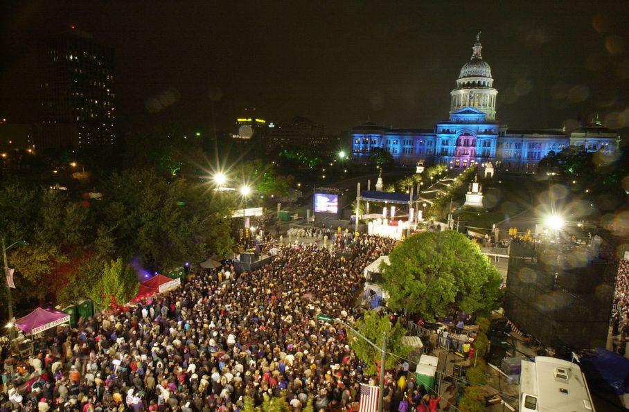 2000 Election Night Party in Austin