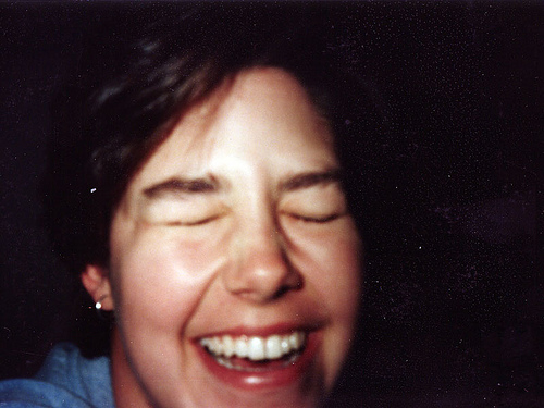 Amy Laughing 1