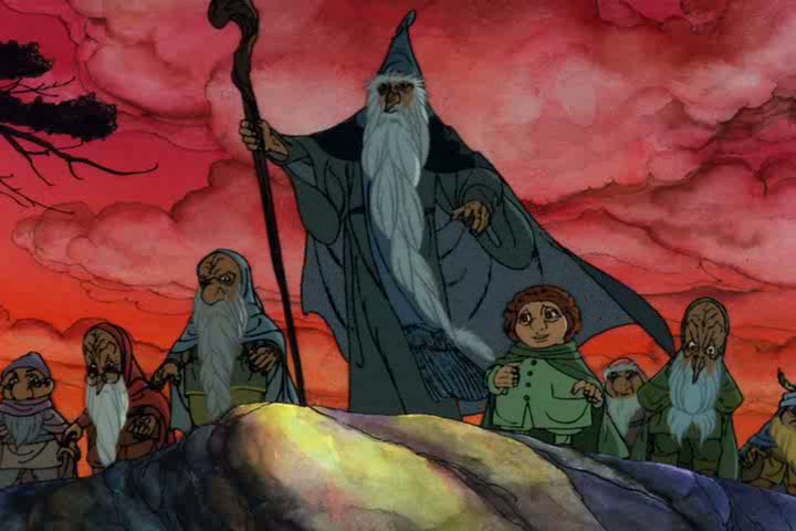 The Hobbit 1977 Screenshot